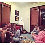 They Aren't Too Cool For Family Game Night