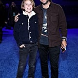 Bronx Wentz and Pete Wentz at the Star Wars: The Rise of Skywalker Premiere in LA