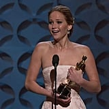 2013: Jennifer Lawrence's Face Plant