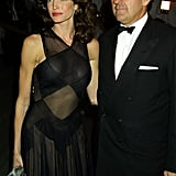 Stephanie Seymour Brant and Peter Brant in 2001
