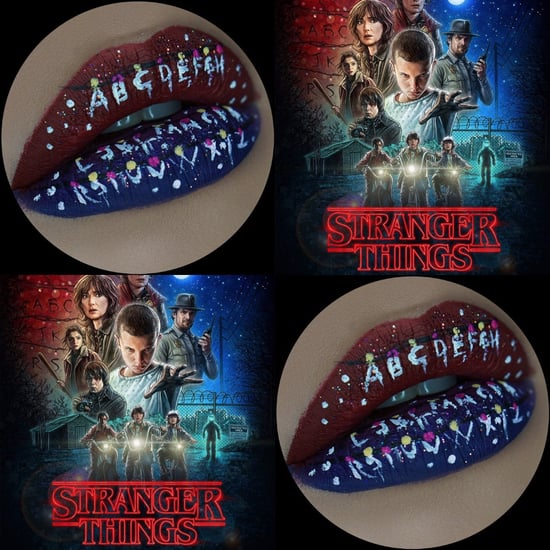 Stranger Things Lip Art
