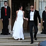 She Later Changed Into a Stella McCartney Gown For the Reception
