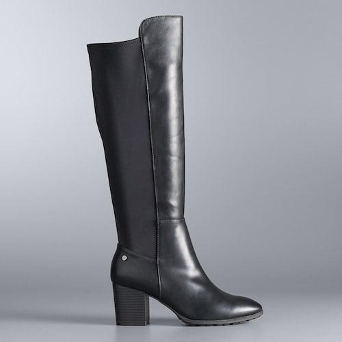 Simply Vera Vera Wang Yates Tall Boots