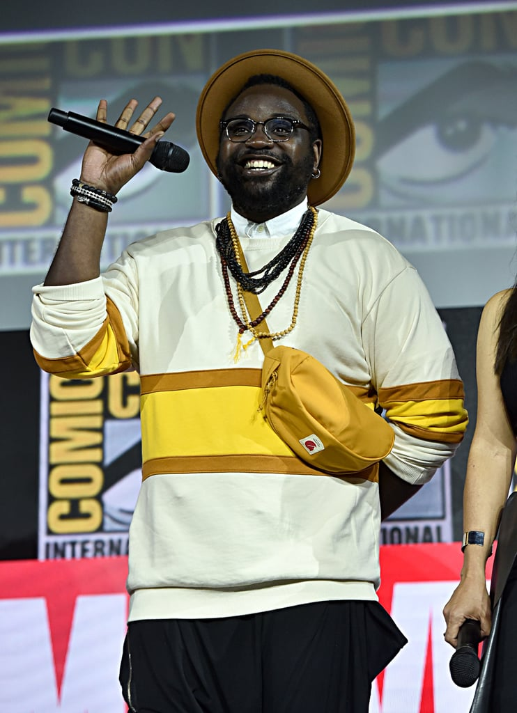 Pictured: Brian Tyree Henry at San Diego Comic-Con.