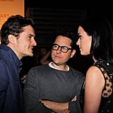 April 2013: Katy and Orlando Meet at a Charity Benefit