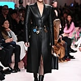 Bella Hadid on the Fendi Fall 2020 Runway at Milan Fashion Week