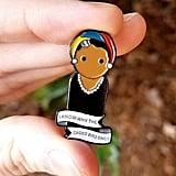 Maya Angelou Peg Doll Enamel Pin