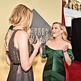 Pictured: Laura Dern and Reese Witherspoon