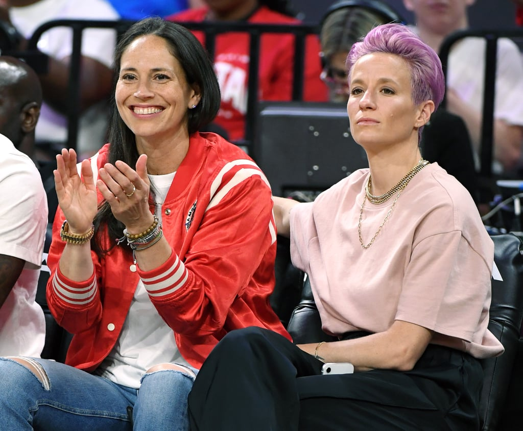 Sue Bird (Team USA Women's Basketball) and Megan Rapinoe (Team USA Women's Soccer)