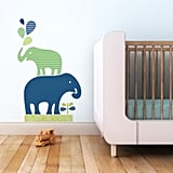 What's cuter than a stack of sweet elephants ($69) by your baby's crib?