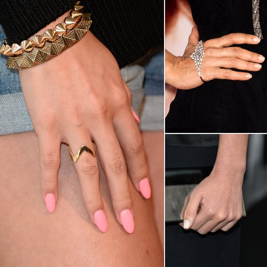 Pictures of Celebrity Manicures of 2013