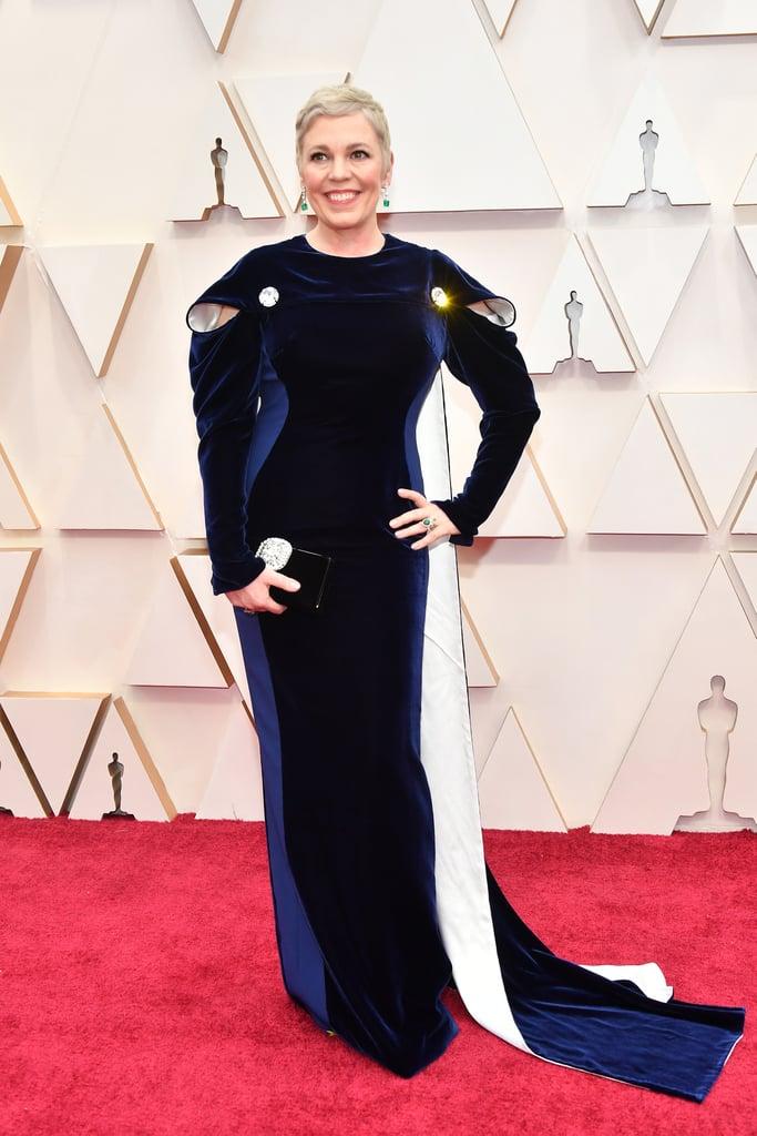 أوليفيا كولمان في حفل توزيع جوائز الأوسكار 2020