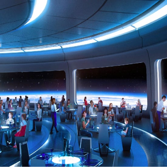 Disney World Space Restaurant