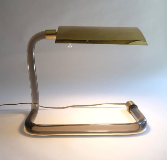 1970s Knoll Crylicord Lamp, $600