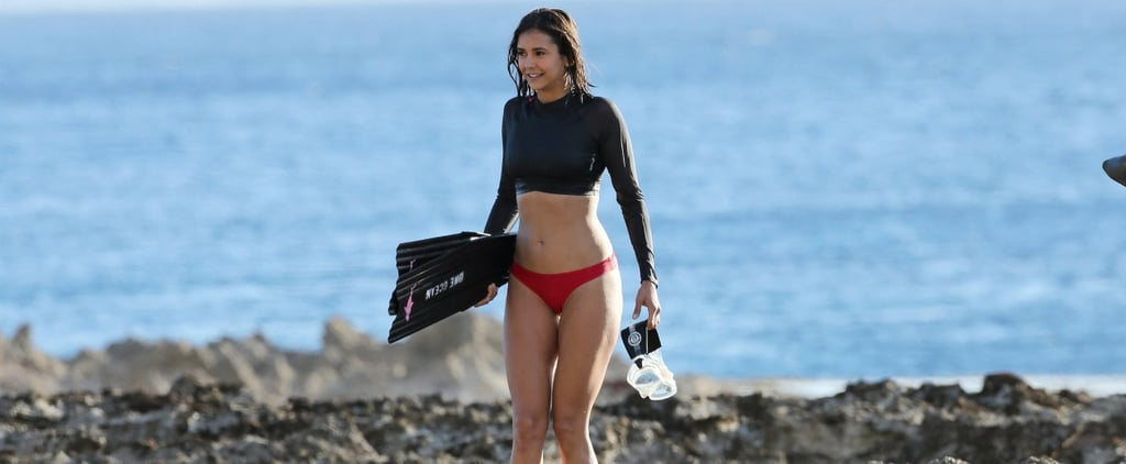 Nina Dobrev Flaunts Her Jaw-Dropping Figure While Working to Save Sharks in Hawaii