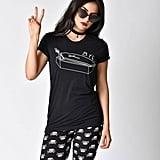 Black Knit Bye Coffin Short Sleeve Unisex Tee ($32)