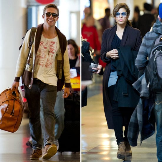 Ryan Gosling and Eva Mendes Head to NYC For New Year's Eve