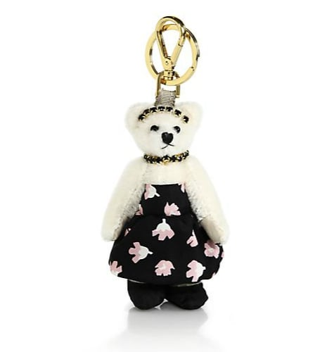 Prada Claire Bear Faux Fur Keychain  ($260)