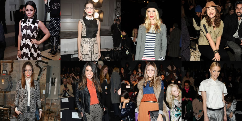 Celebrity Front Row Style RoundUp From New York Fashion Week