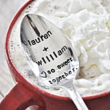 Lauren Conrad shared this adorable stamped spoon on her Instagram account soon after announcing her engagement to fiancé William. You can personalize these hand-stamped JessicaNDesigns spoons ($20) with any message to sweeten up someone you love's morning coffee, hot chocolate, or tea.  — Molly Goodson, VP of content