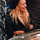 Nicole Richie Shows Off Her Marital Glow After Dinner