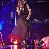 Taylor Swift Reputation Concert in the Rain Photos