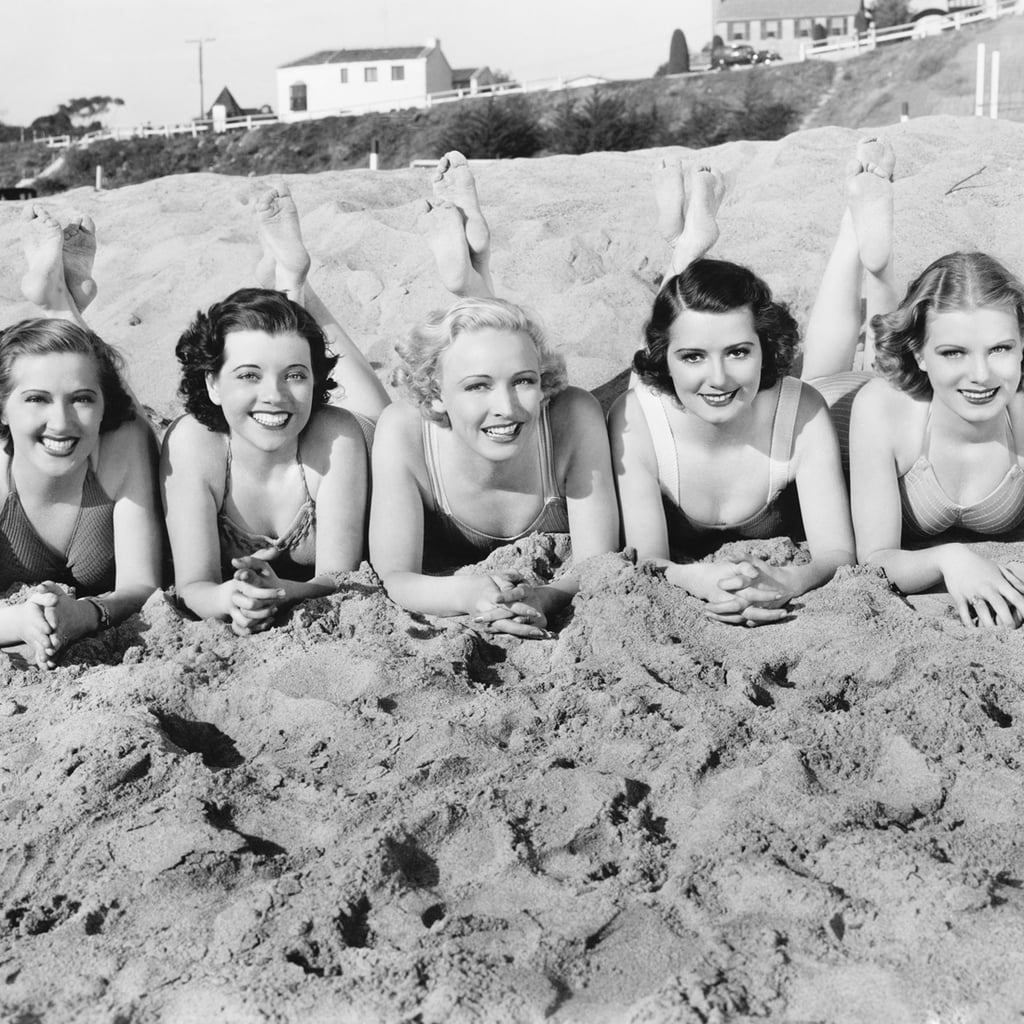 A Vintage Day at the Beach
