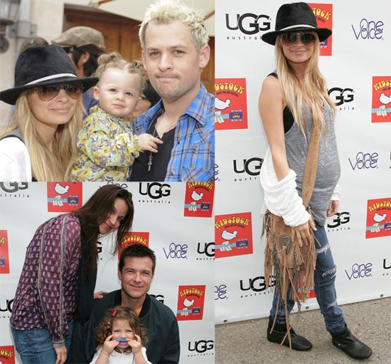 Photos of Nicole Richie, Joel Madden, Harlow Madden at Kidstock
