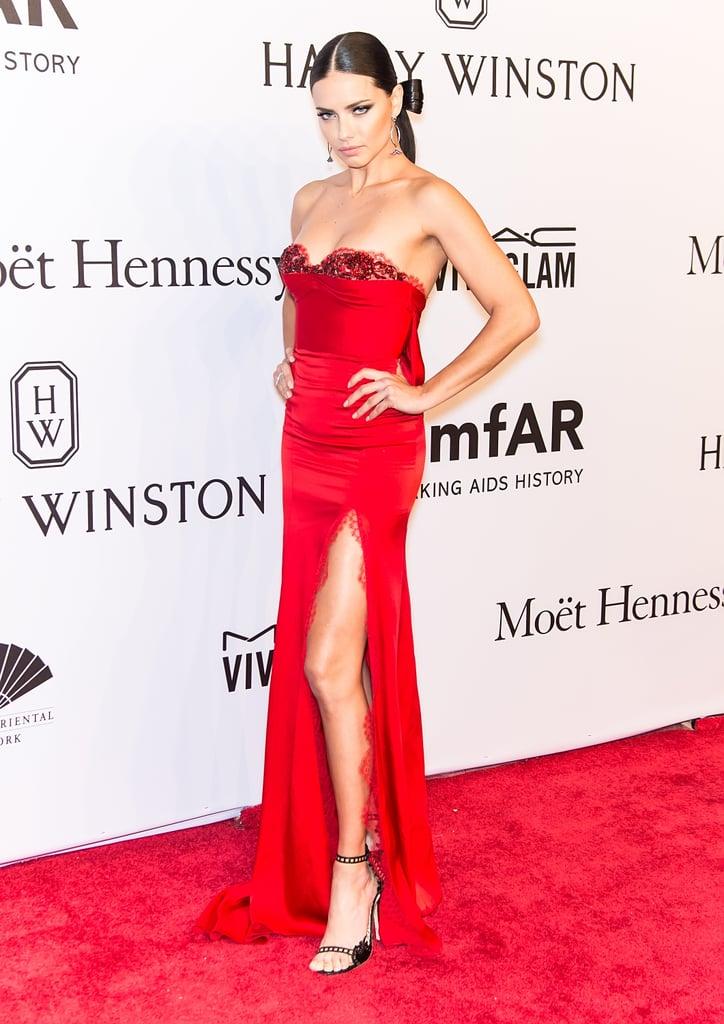 Adriana Lima at the amfAR New York Gala 2016