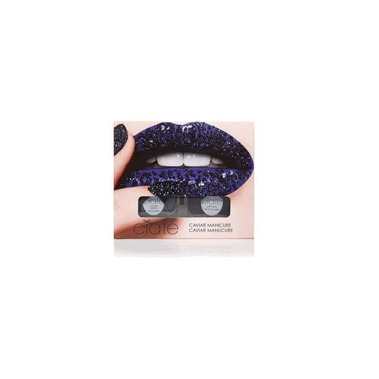 Ciaté Caviar Manicure in Black Pearls, $36