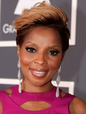 Mary J. Blige at Grammys