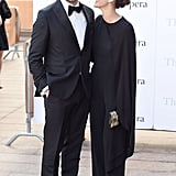 Keri Russell and Matthew Rhys at Met Opera Opening 2016