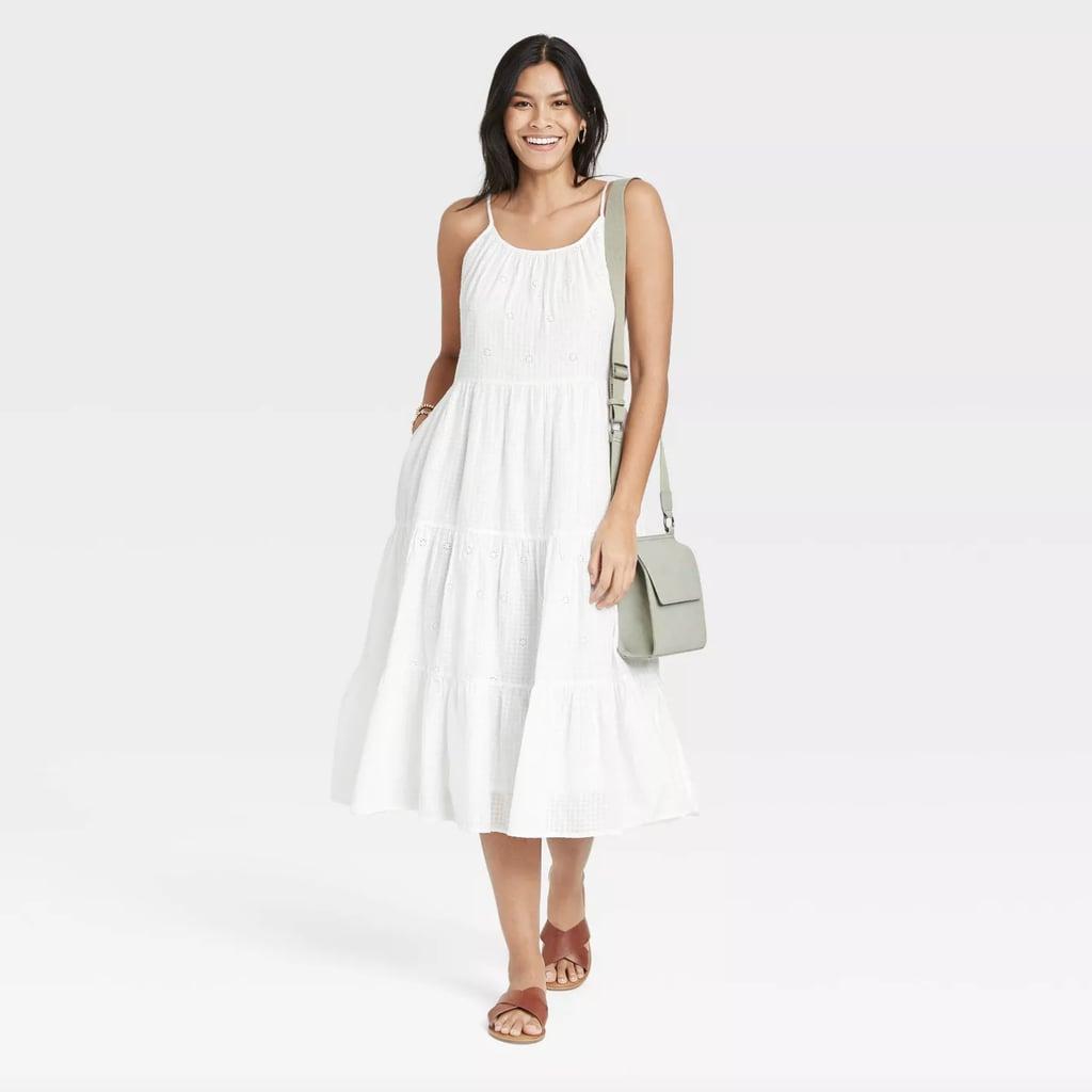 Universal Thread Sleeveless Tiered Dress