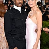 Gwyneth Paltrow and ASAP Rocky — 2017