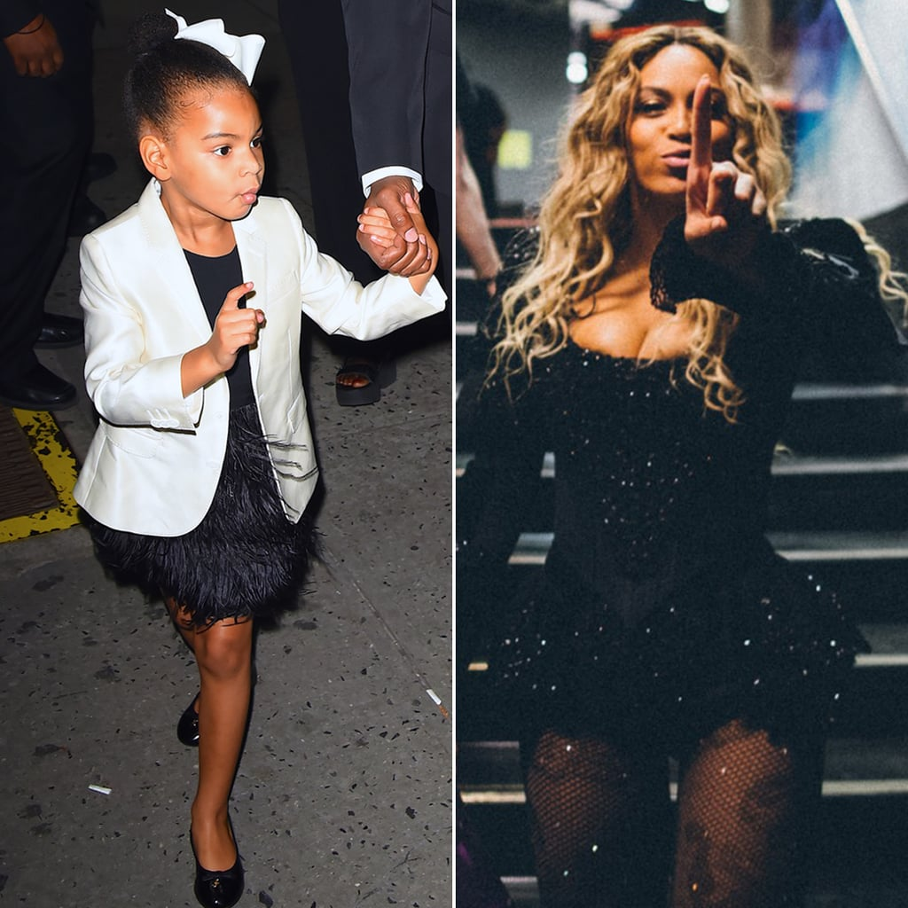 Beyonce Copies Blue Ivy's Finger Wag