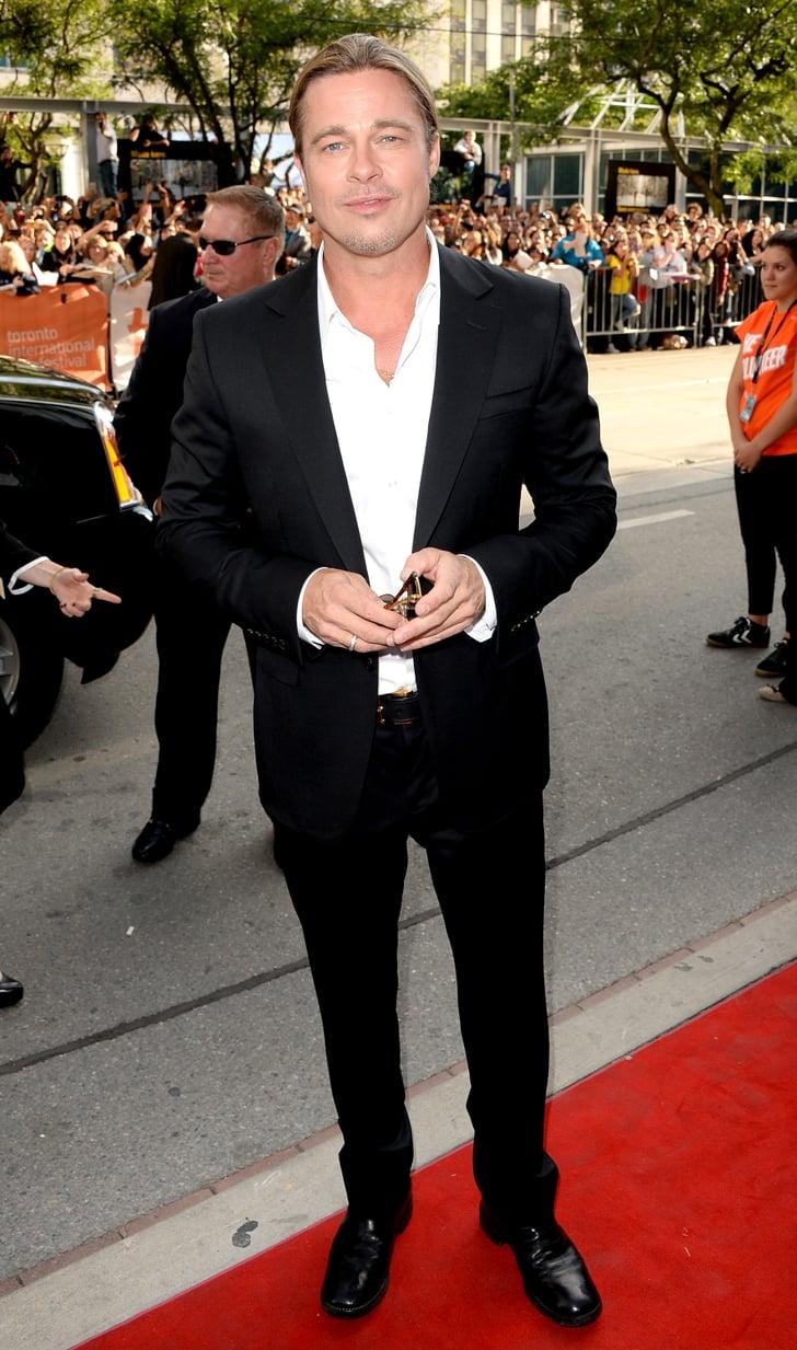 Brad Pitt Cleans Up Nicely For the Toronto International Film Festival