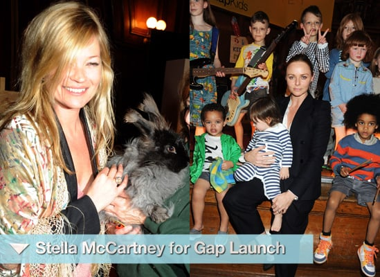 Photos from Stella McCartney for Gap Kids Launch in London