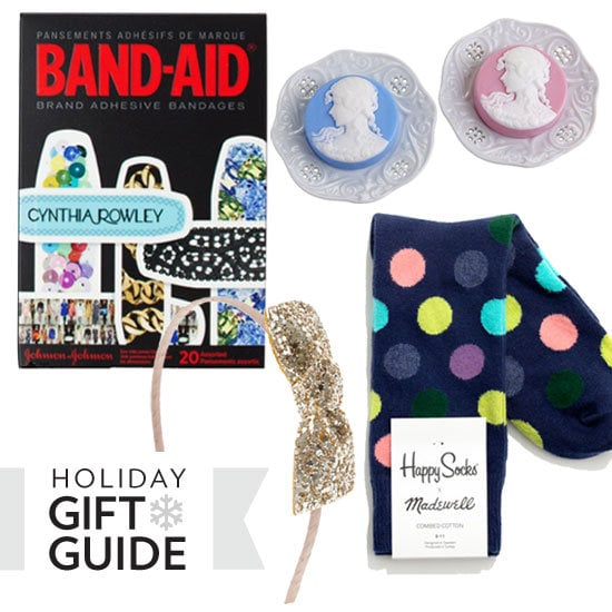 From cheeky cocktail napkins and vintage brooch-inspired soap to a seriously stylish origami set and a macaron-shaped pouch for all your pretty little things, Fab's found 15 quirky, colorful white elephant gifts that you may actually have some trouble giving up.