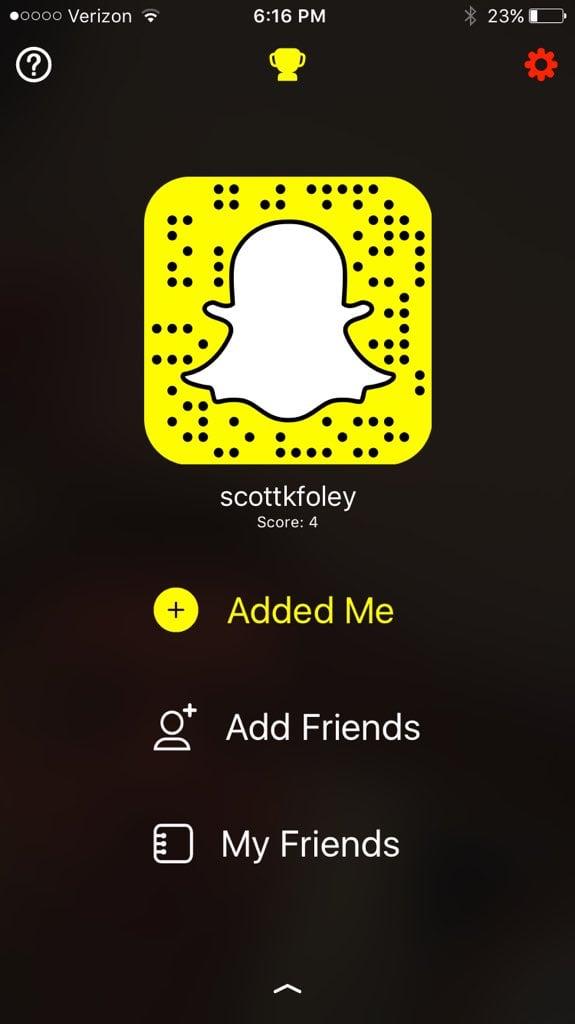 Scott Foley on Snapchat: scottkfoley
