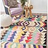 Tribal Arrowheads  Wool  Rug ($105)