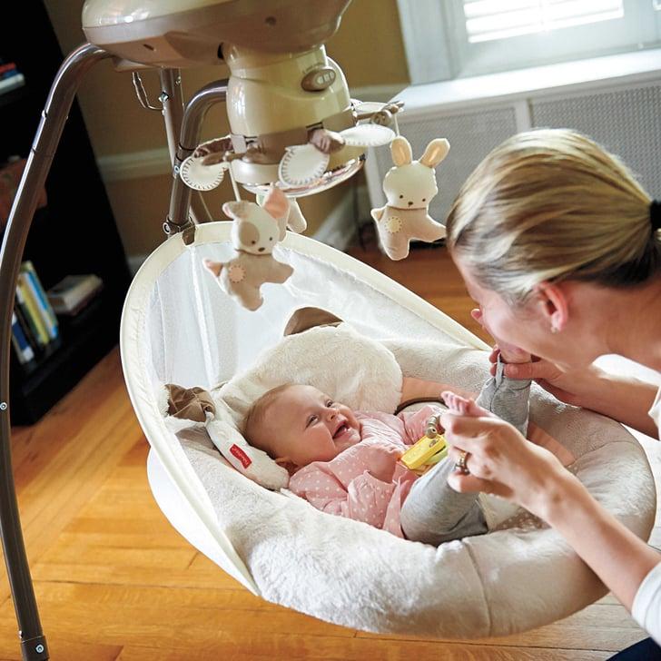Fisher Price My Little Snugapuppy Cradle N Swing Must