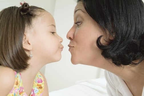 Do You Kiss Your Family Members on the Lips?