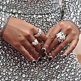 Janelle Monáe's Reverse French Manicure at the 2020 Oscars