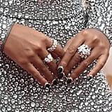 Janelle Monáe's Reverse French Manicure