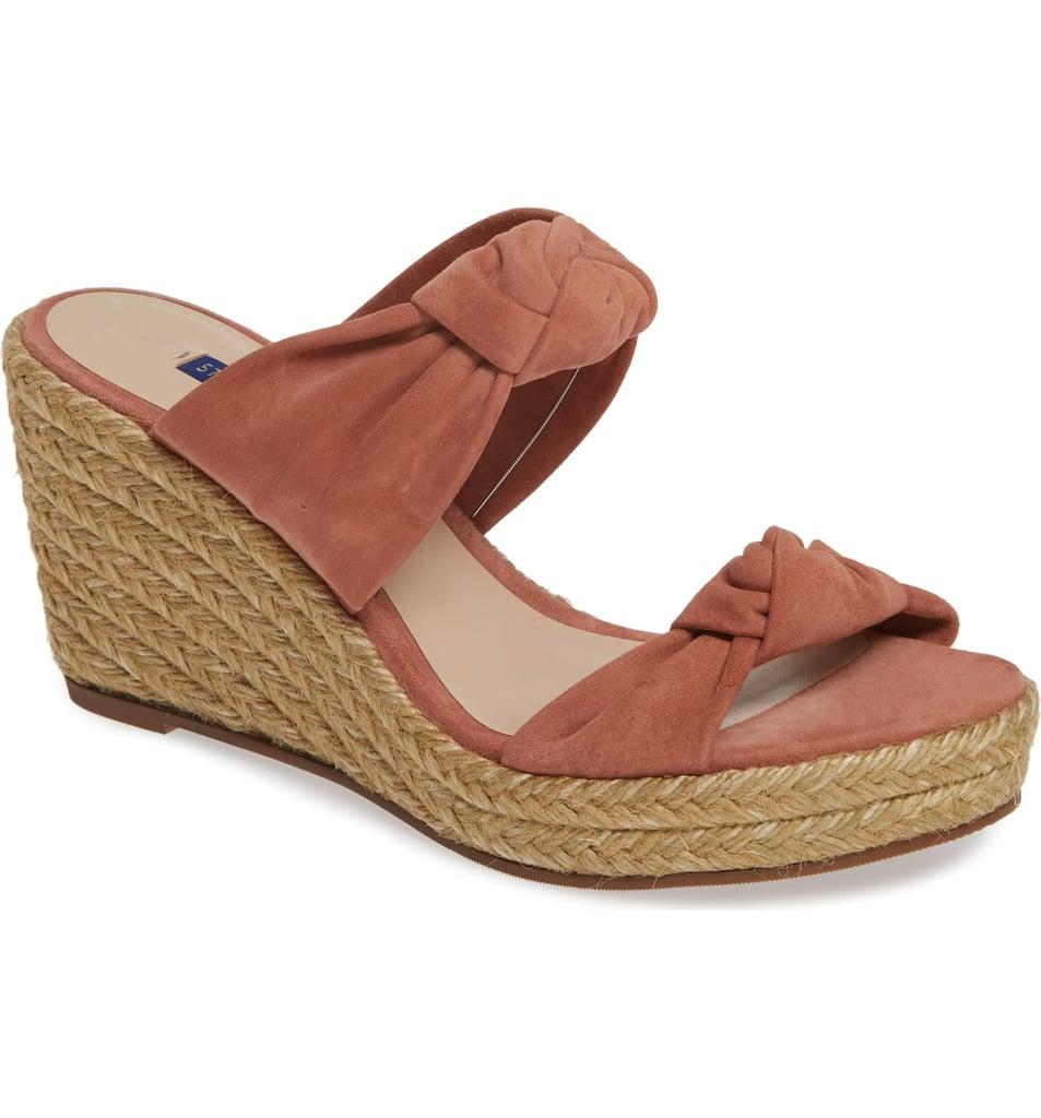 73e8967ca05e Stuart Weitzman Sarina Espadrille Wedge Slide Sandals