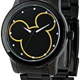 Disney Mickey Mouse Mens Black Bracelet Watch