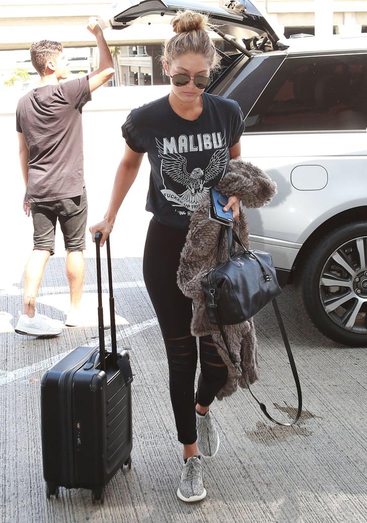 Gigi Hadid and Kendall Jenner Wearing