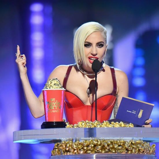 Lady Gaga at MTV Movie and TV Awards 2018