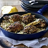 Greek Chicken and Lemon Rice