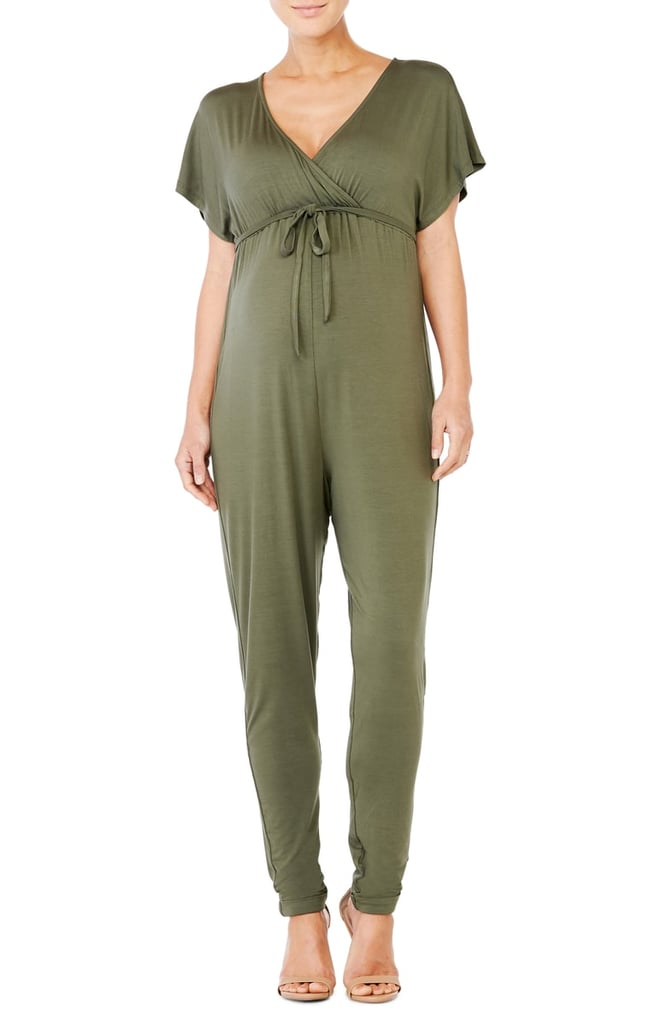 Ingrid Isabel Crossover Maternity Jumpsuit Maternity Clothes At